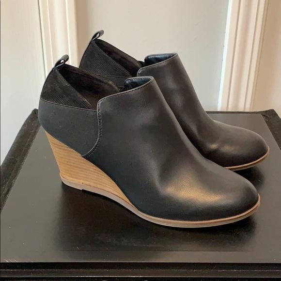 Dr Scholls Black Ankle Booties | Poshmark